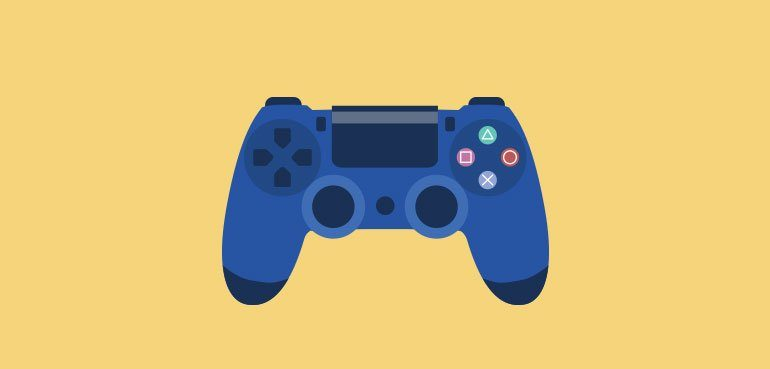 skills to look for in a good story telling narrator - illustration of a video game controller
