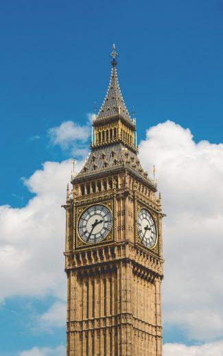 קריינות באנגלית בריטית - השעון ביג בן