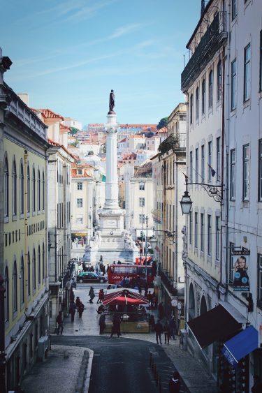 portuguese voice over - rossio lisbon