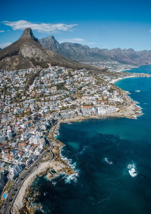 south african english voice over - view of capetown