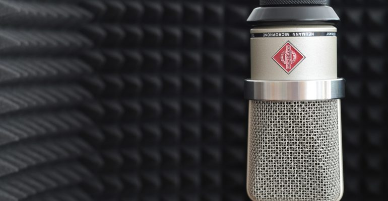 5 Questions to Ask a Voice Actor Before Recording - Neumann condenser microphone