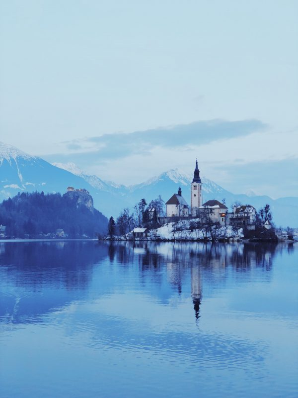 Slovenian voice actors - building on body water in bled slovenia