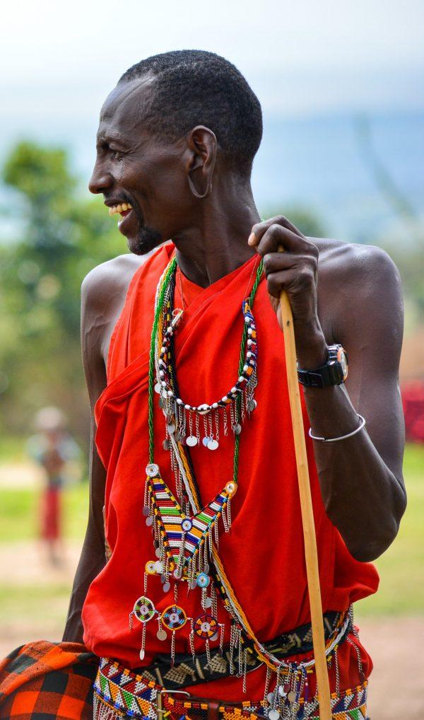 Swahili voice actors - Masaii tribesman