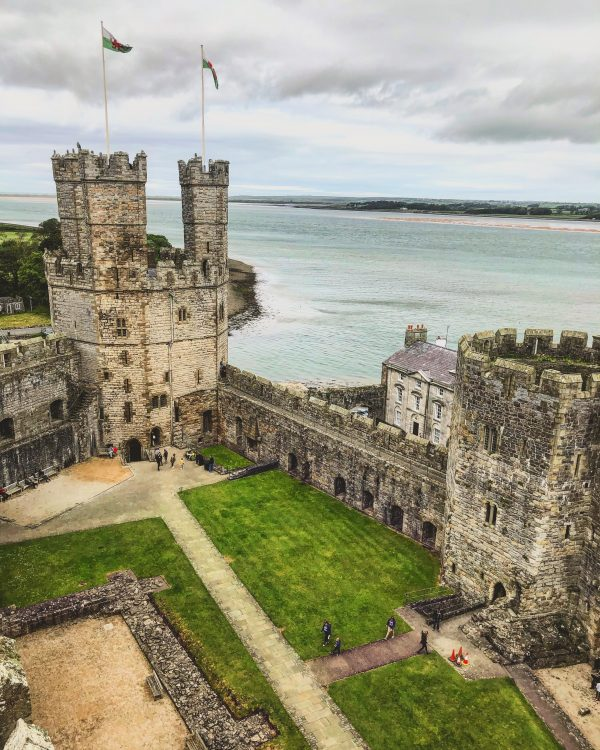 Welsh voice actors - Caernarfon Castle Wales