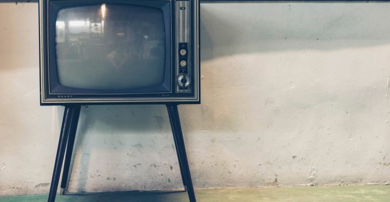 How Long Should TV Commercial Be - Old Television