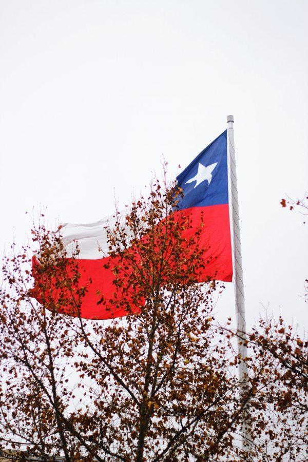 Chilean Spanish voice actors - Chilean flag