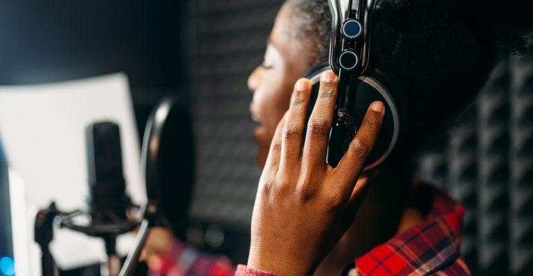 Dubbing-A Comprehensive Guide - Female voice talent recording
