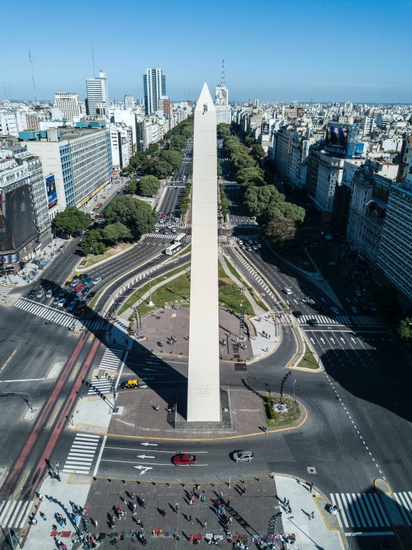 Argentinian Spanish voice actors - Aerial photo of Buenos Aires