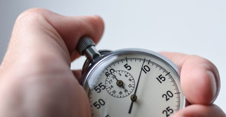 6 Tips for Directing Voiceover Talent — Person with Stopwatch