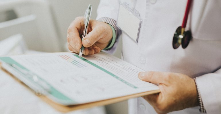 How to Hire a Voice Actor for Medical Narration —Doctor Taking Notes
